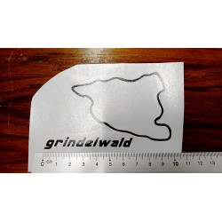 Grindelwald sticker / decal