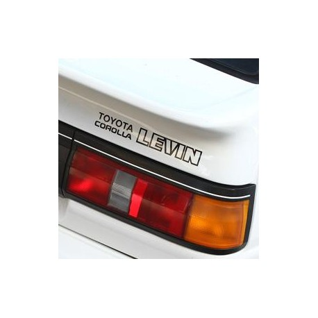 AE86 Sticker - Toyota Corolla Levin AE86 grille full decal set