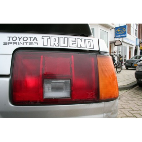 AE86 Sticker Toyota Sprinter Trueno rear decal
