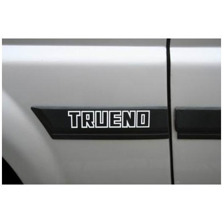 AE86 Sticker - Toyota Sprinter Trueno AE86 side moulding decal