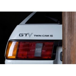 AE86 Sticker - GTV Twin Cam 16 AE86 rear decal