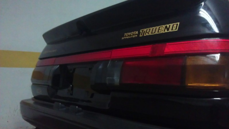 Accurate copies of the AE86 stickers!